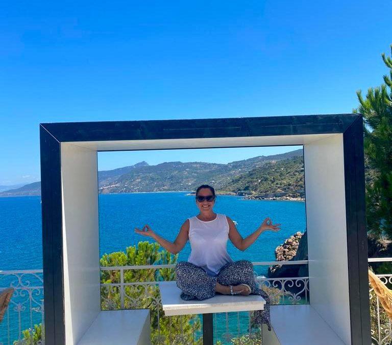 Yoga und Meer