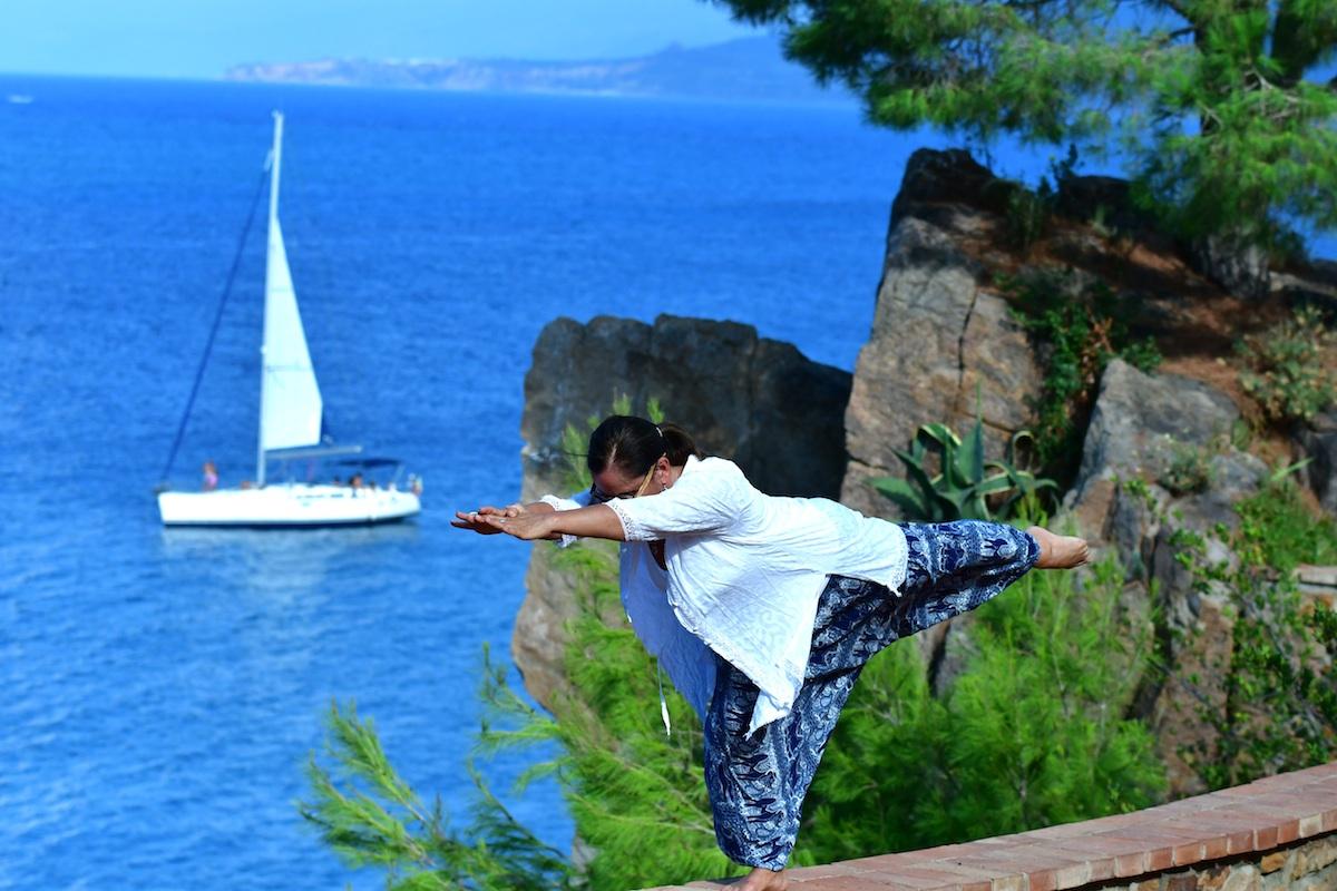 Yoga auf Sizilien